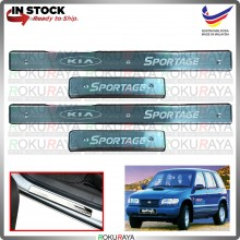 [BESI] Kia Sportage NB Stainless Steel Chrome Side Sill Kicking Plate Garnish Moulding Cover Trim Car Accessories