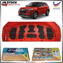 Perodua Ativa SUV Carfit Vibramat Boot Trunk Bonnet Deadening Sound Proof Heat Insulation Mat Car Aceessories