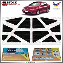 Nissan Sentra N16 Carfit Vibramat Boot Trunk Bonnet Deadening Sound Proof Heat Insulation Mat Car Aceessories