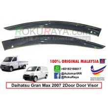 Daihatsu Gran Max 2Door 2007 AG Door Visor Air Press Wind Deflector (Big 12cm Width)