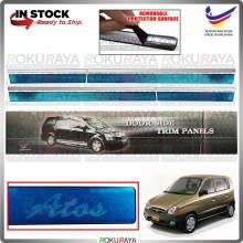 [BESI] Hyundai Inokom Atos Stainless Steel Side Door Moulding Garnish Body Lining Panel Car Accessories Local Parts