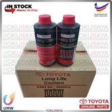 [1LITER] 088891L Original Genuine Toyota Long Life Radiator Coolant for Honda Proton Perodua Isuzu Nissan Kia Hyundai
