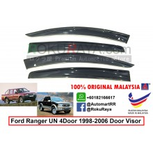 Ford Ranger 4Door UN 1998-2006 AG Malaysia Door Visor Air Press Wind Deflector (Big 12cm Width)