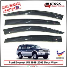 Ford Everest Endeavour UN 1998-2006 AG Malaysia Door Visor Air Press Wind Deflector (Big 12cm Width)