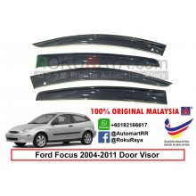 Ford Focus Malaysia ( 2nd Gen ) 2004–2011 AG Malaysia Door Visor Air Press Wind Deflector (Small 7cm Width)