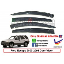 Ford Escape ( 1st Gen ) 2000-2006 AG Malaysia Door Visor Air Press Wind Deflector (Big 12cm Width)