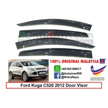 Ford Kuga C520 ( 2nd Gen ) 2012 AG Door Visor Air Press Wind Deflector ( Big 12cm Width)