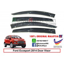 Ford Ecosport Eco Sport ( 2nd Gen ) 2014 AG Door Visor Air Press Wind Deflector (Big 12cm Width)