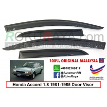 Honda Accord 1.8 ( 2nd Gen ) 1981-1985 AG Door Visor Air Press Wind Deflector (Small 7cm Width)