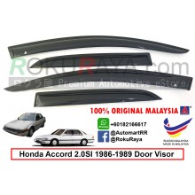 Honda Accord 2.0 SI ( 3rd Gen ) 1986-1989 AG Door Visor Air Press Wind Deflector (Small 7cm Width)