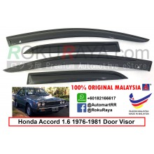 Honda Accord 1.6 ( 1st Gen ) 1976-1981 AG Door Visor Air Press Wind Deflector (Small 7cm Width)