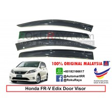 Honda FR-V Edix AG Door Visor Air Press Wind Deflector (Big 12cm Width)