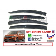 Honda Airwave 2005-2010 AG Door Visor Air Press Wind Deflector (Big 12cm Width)
