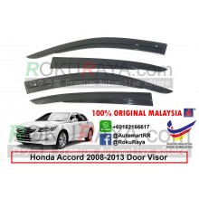 Honda Accord ( 8th Gen ) 2008–2013 AG Door Visor Air Press Wind Deflector (AG Mugen Design)