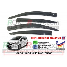 Honda Freed 2011 AG Door Visor Air Press Wind Deflector (AG Mugen Design)