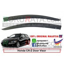 Honda CRZ CR-Z Hybrid AG Door Visor Air Press Wind Deflector (Medium 8cm Width)