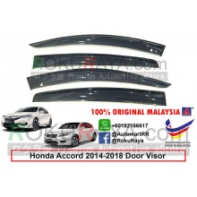 Honda Accord ( 9th Gen ) 2013 AG Door Visor Air Press Wind Deflector (Big 12cm Width)