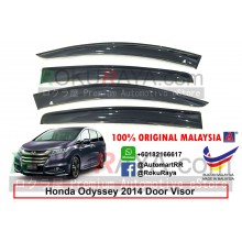 Honda Odyssey RC1 RC2 2014 AG Door Visor Air Press Wind Deflector (Big 12cm Width)