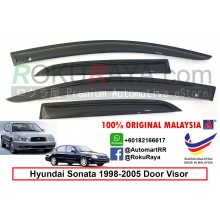 Hyundai Sonata EF (4th Gen) 1998-2005 AG Door Visor Air Press Wind Deflector (Small 7cm Width)