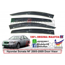 Hyundai Sonata NF (5th Gen) 2005-2009 AG Door Visor Air Press Wind Deflector (Big 12cm Width)