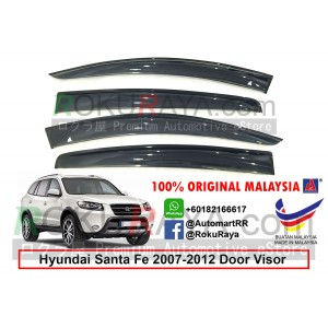 Hyundai Santa Fe CM (2nd Gen) 2007-2012 AG Door Visor Air Press Wind Deflector (Big 12cm Width)
