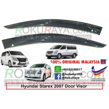 Hyundai Starex 2Door TQ (2nd Gen) 2007 AG Door Visor Air Press Wind Deflector (Big 12cm Width)