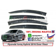 Hyundai Ioniq Hybrid 2016 AG Door Visor Air Press Wind Deflector (Medium 8cm Width)