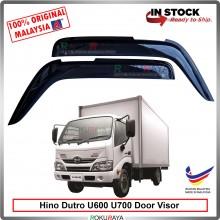 Hino Dutro U600 U700 AG Door Visor Air Press Wind Deflector (Big 12cm Width)