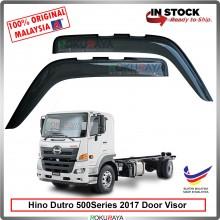 Hino Dutro 500Series 2017 AG Door Visor Air Press Wind Deflector (Big 12cm Width)