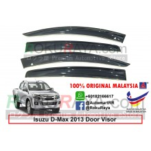 Isuzu D-Max Dmax (2nd Gen) 2013 AG Door Visor Air Press Wind Deflector (Big 12cm Width)