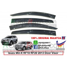 Isuzu MU-X MUX RF10 RF20 2013 AG Door Visor Air Press Wind Deflector (Big 12cm Width)
