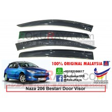 Naza 206 Bestari AG Door Visor Air Press Wind Deflector (Big 12cm Width)