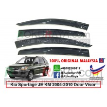 Kia Sportage JE KM (2nd Gen) 2004-2010 AG Door Visor Air Press Wind Deflector (Big 12cm Width)