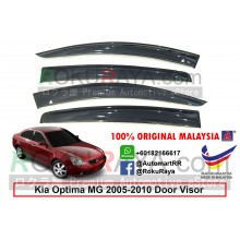 Kia Optima MG (2nd Gen) 2005-2010 AG Door Visor Air Press Wind Deflector (Big 12cm Width)
