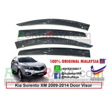 Kia Sorento XM (2nd Gen) 2009-2014 AG Door Visor Air Press Wind Deflector (Big 12cm Width)