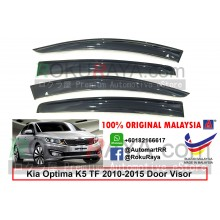 Kia Optima K5 (3rd Gen) TF 2010-2015 AG Door Visor Air Press Wind Deflector (Big 12cm Width)
