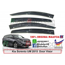 Kia Sorento UM (3rd Gen) 2015 AG Door Visor Air Press Wind Deflector (Big 12cm Width)
