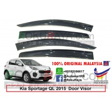 Kia Sportage QL (4th Gen) 2015 AG Door Visor Air Press Wind Deflector (Big 12cm Width)