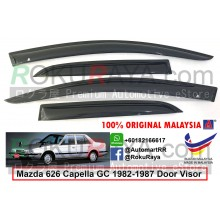 Mazda 626 Capella GC (3rd Gen) 1982-1987  AG Door Visor Air Press Wind Deflector (Small 7cm Width)