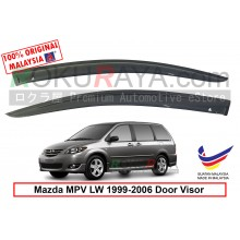 Mazda MPV LW (2nd Gen) 1999-2006  AG Door Visor Air Press Wind Deflector (Small 7cm Width)