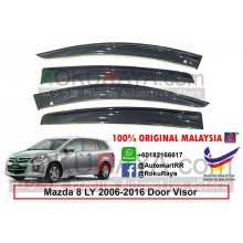 Mazda 8 MPV LY (3rd Gen) 2006-2016 AG Door Visor Air Press Wind Deflector (Big 12cm Width)