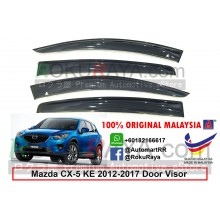 Mazda CX5 CX-5 KE (1st Gen) 2012-2017 AG Door Visor Air Press Wind Deflector (Big 12cm Width)