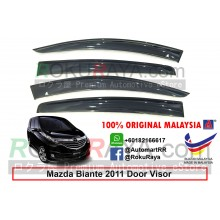 Mazda Biante 2011 AG Door Visor Air Press Wind Deflector (Big 12cm Width)