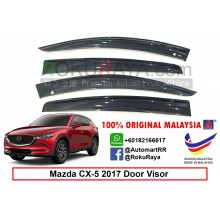 Mazda CX5 CX-5 KF (2nd Gen) 2017 AG Door Visor Air Press Wind Deflector (Big 12cm Width)