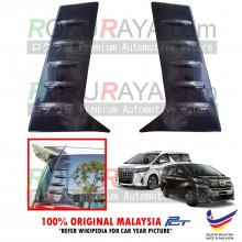 Toyota Alphard Vellfire AH30 (3rd Gen) 2015 Aerodynamic Rear Triangle Side Window Mirror Cover