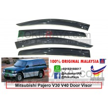 Mitsubishi Pajero V6 V31 / V32 / V34 / V44WG (2nd Gen) 1994-1999 AG Door Visor Air Press Wind Deflector ( Big 12cm Width)