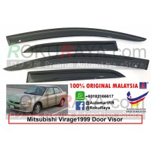 Mitsubishi Virage (5th Gen) 1999 AG Door Visor Air Press Wind Deflector (Small 7cm Width)