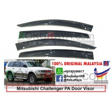 Mitsubishi Challenger PA (1st Gen) 1996-2008 AG Door Visor Air Press Wind Deflector (Big 12cm Width)