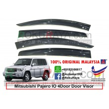 Mitsubishi Pajero IO 4Door 1998-2007 AG Door Visor Air Press Wind Deflector (Big 12cm Width)