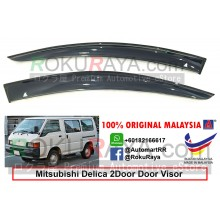 Mitsubishi Delica Starwagon 2Door 1990-2005 AG Door Visor Air Press Wind Deflector (Small 7cm Width)